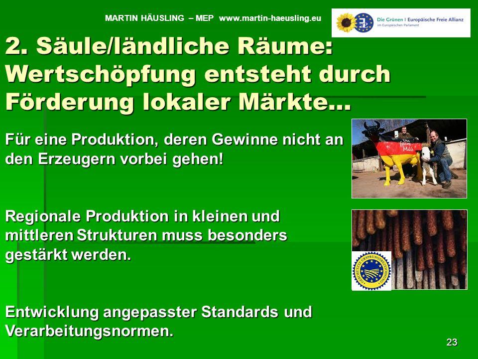 MARTIN HÄUSLING – MEP www.martin-haeusling.eu