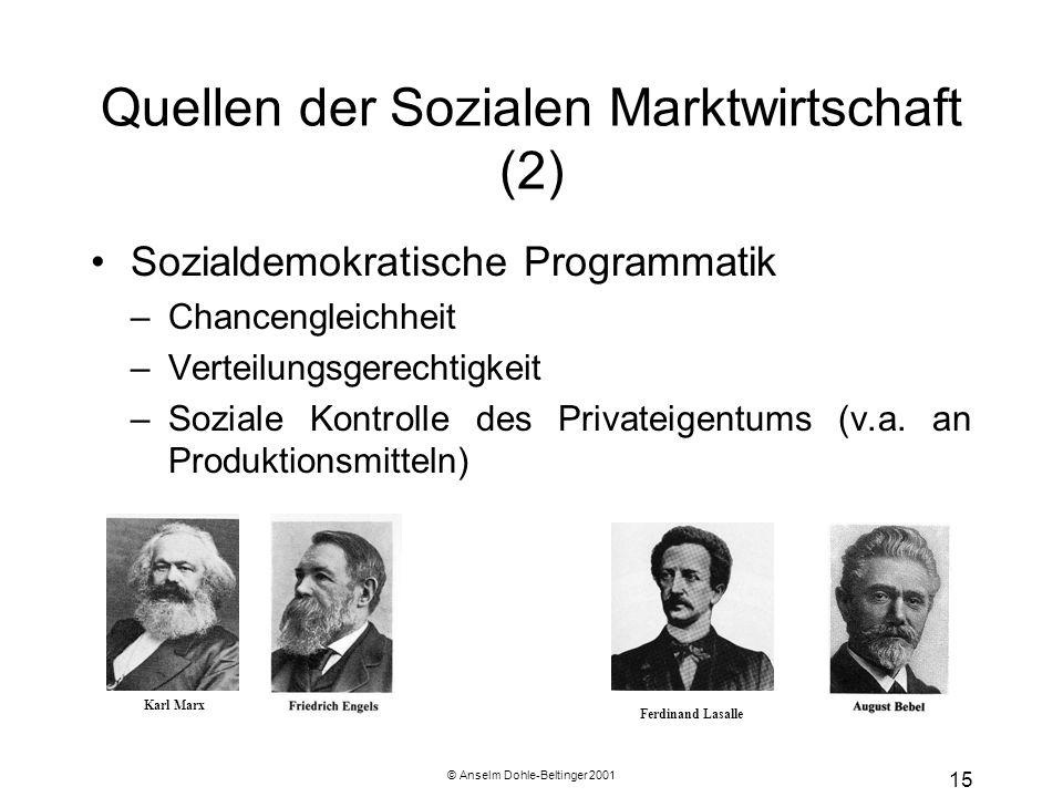 Quellen der Sozialen Marktwirtschaft (2)