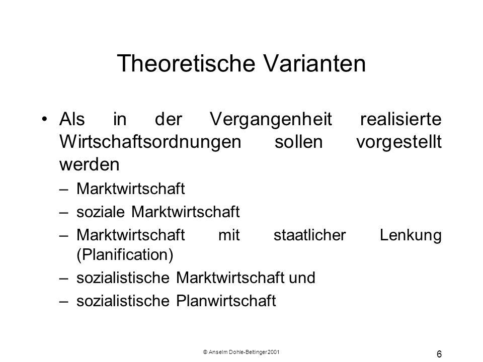 Theoretische Varianten