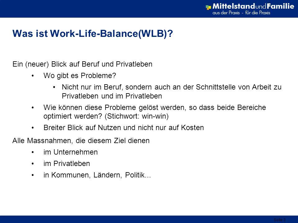 Was ist Work-Life-Balance(WLB)