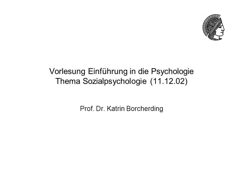 Prof. Dr. Katrin Borcherding