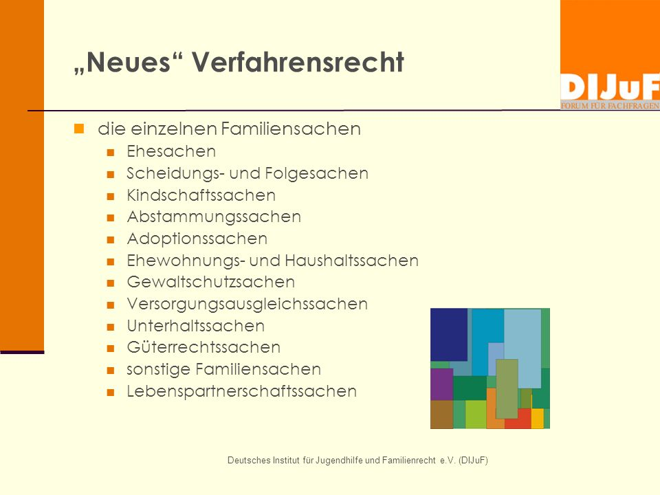 """Neues Verfahrensrecht"