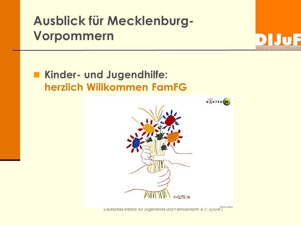 Ausblick für Mecklenburg-Vorpommern
