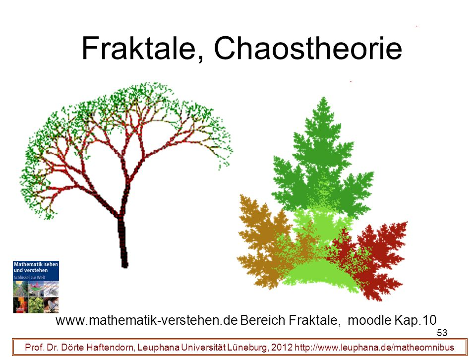 Fraktale, Chaostheorie