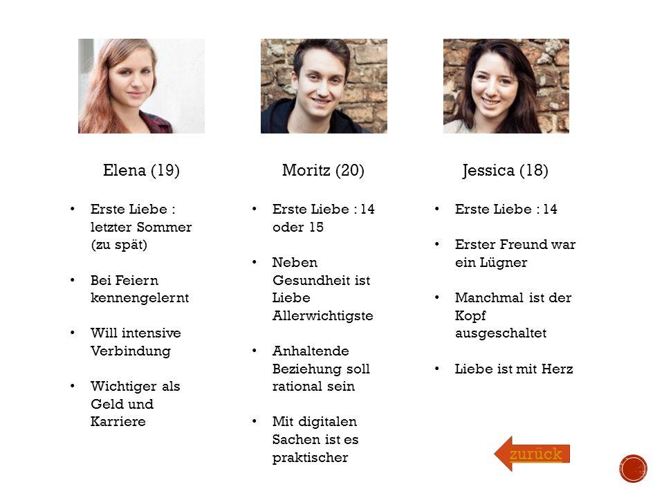 Elena (19) Moritz (20) Jessica (18) zurück