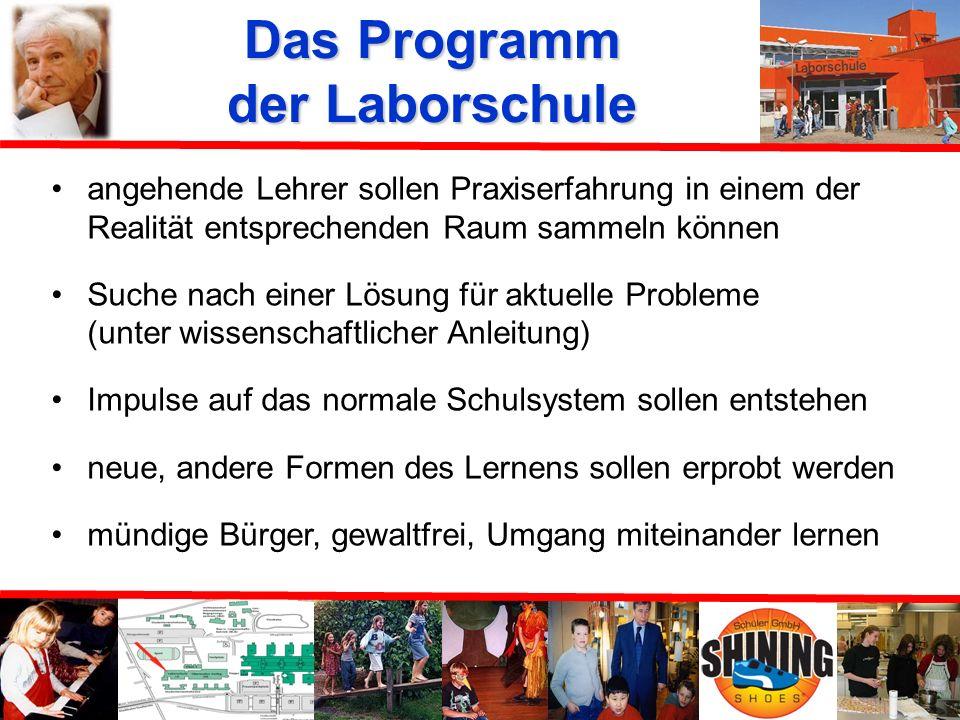 Das Programm der Laborschule