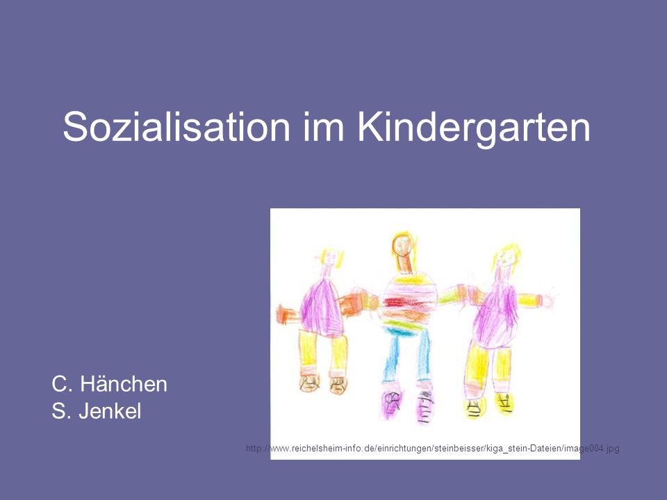 Sozialisation im Kindergarten