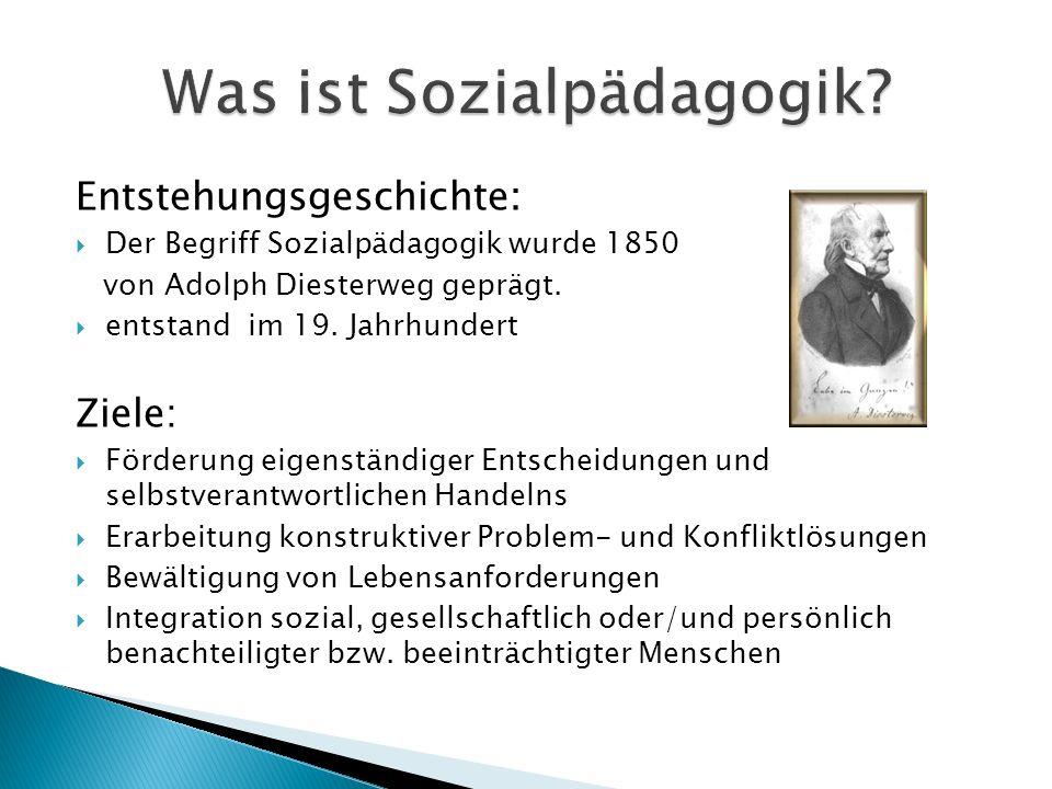 Was ist Sozialpädagogik