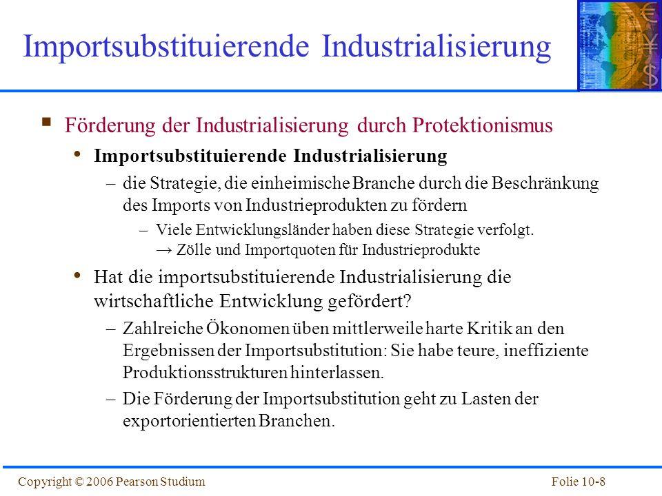 Importsubstituierende Industrialisierung