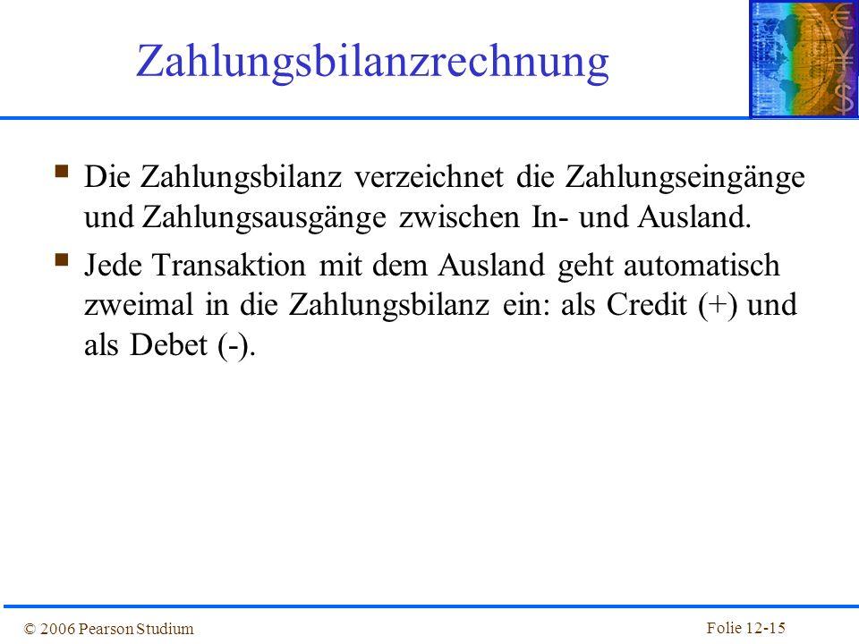 Zahlungsbilanzrechnung
