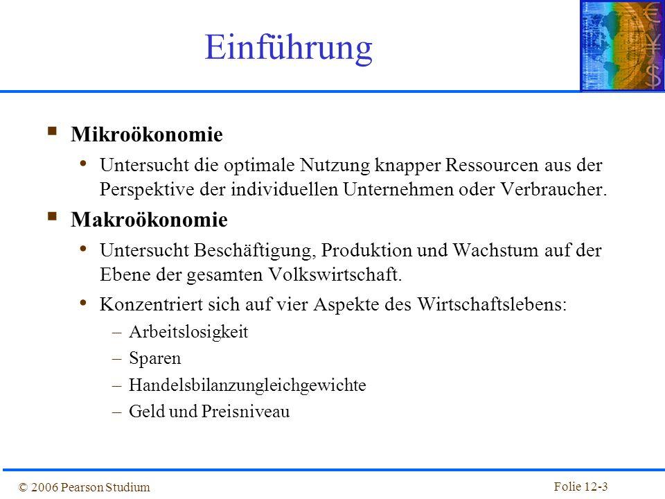 Einführung Mikroökonomie Makroökonomie