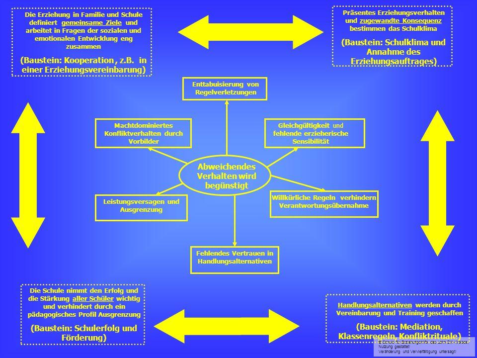(Baustein: Kooperation , z.B. in einer Erziehungsvereinbarung)