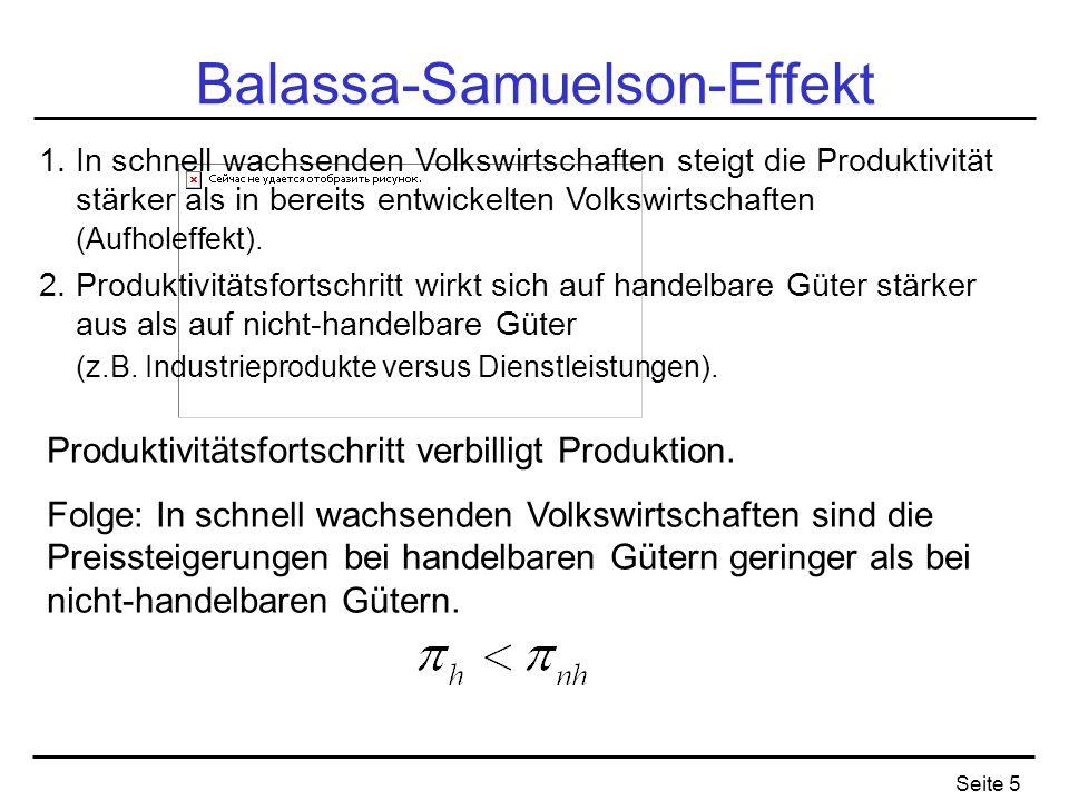Balassa-Samuelson-Effekt