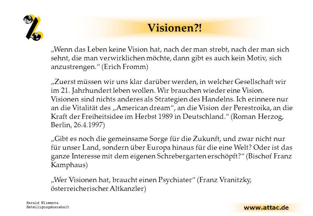Visionen !