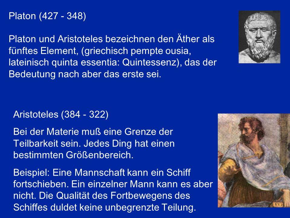 Platon (427 - 348)