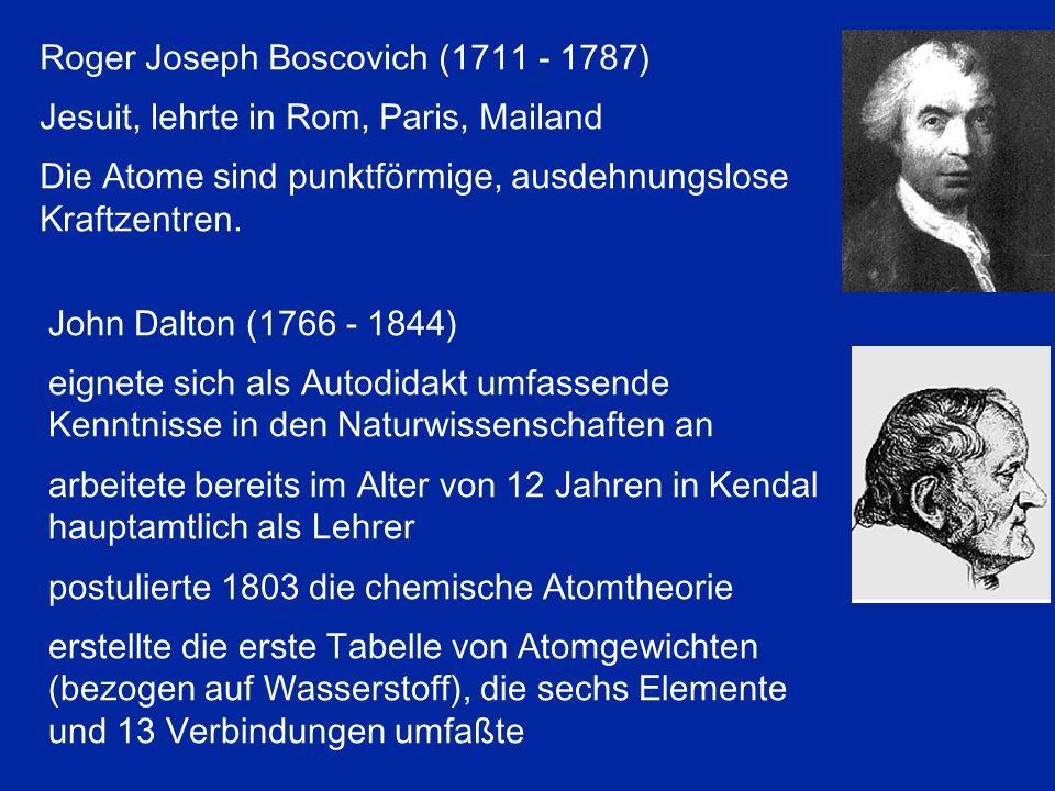 Roger Joseph Boscovich (1711 - 1787)