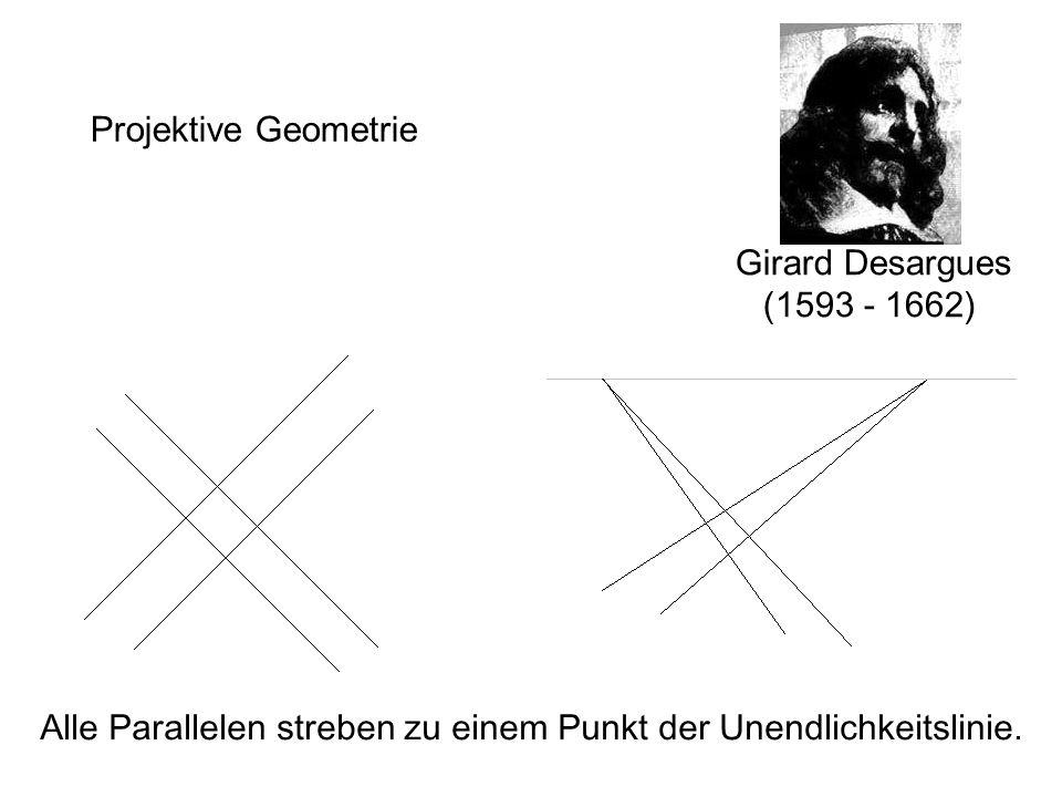 Projektive Geometrie Girard Desargues.