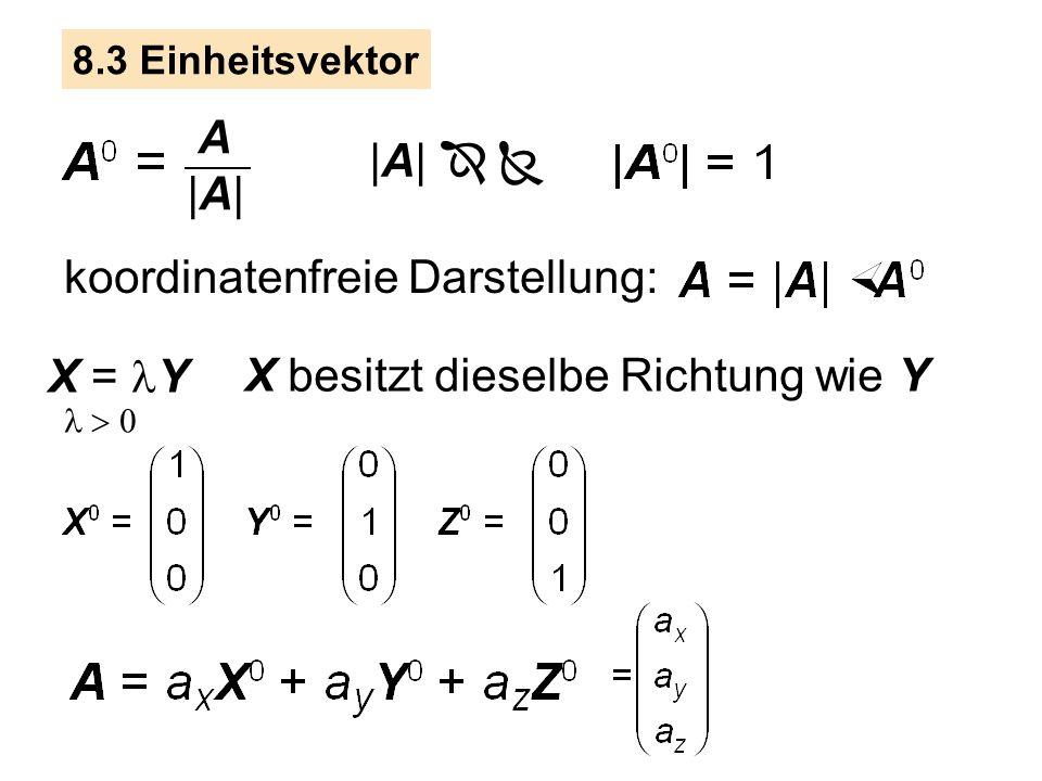 koordinatenfreie Darstellung: