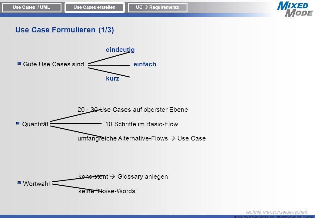Use Case Formulieren (1/3)