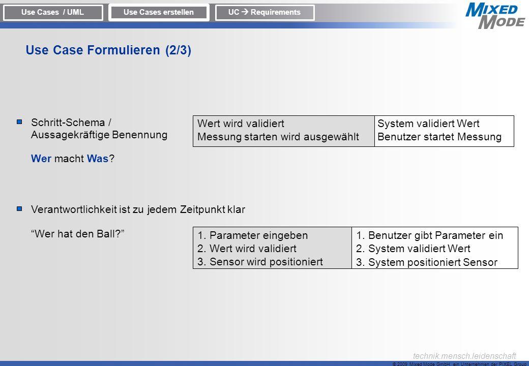 Use Case Formulieren (2/3)