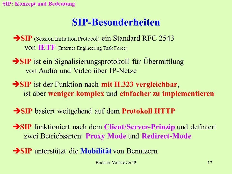 SIP: Konzept und Bedeutung