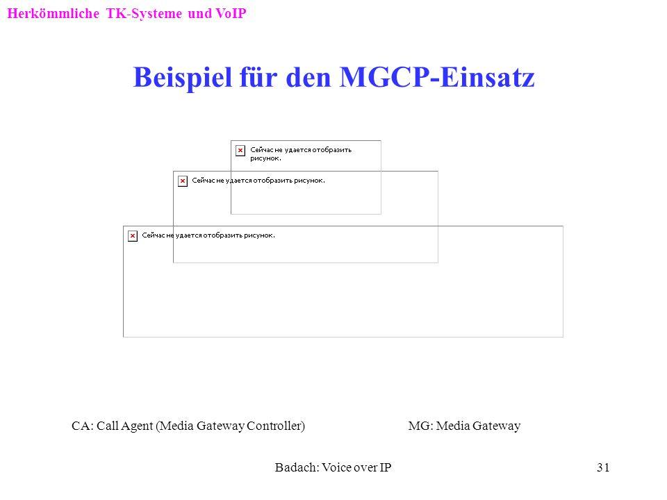 Beispiel für den MGCP-Einsatz