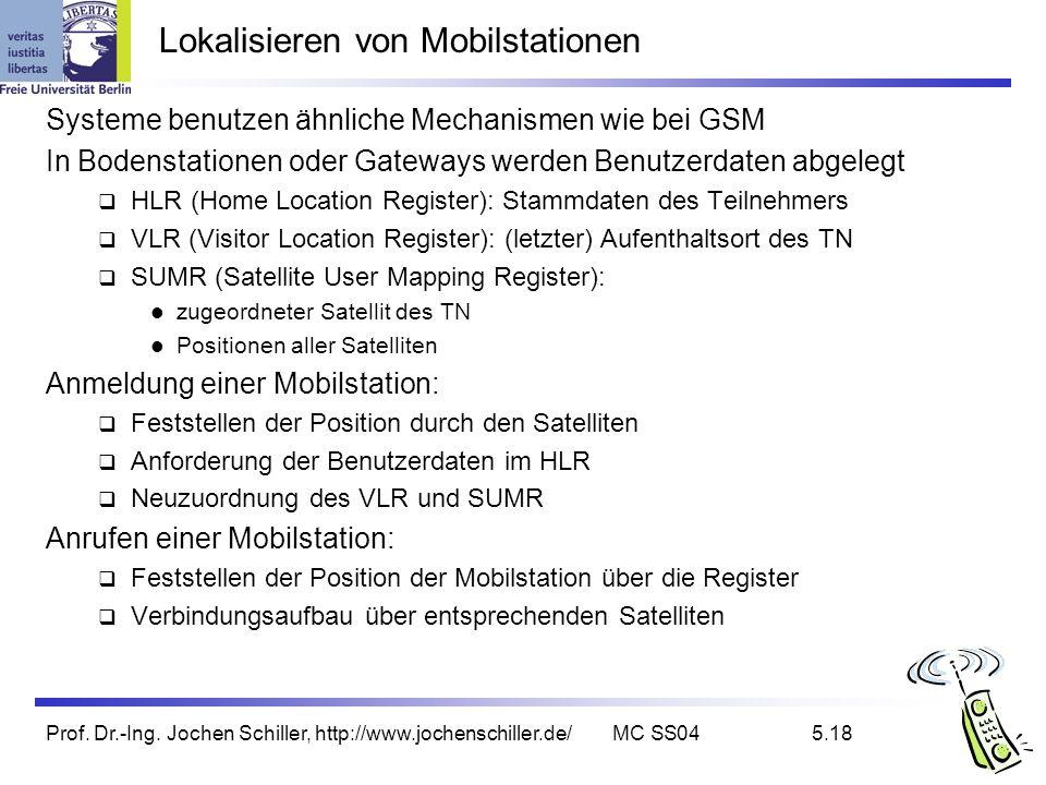 Lokalisieren von Mobilstationen
