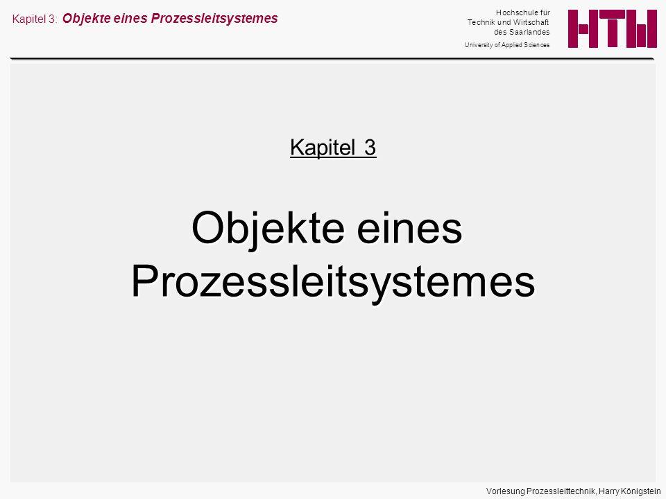 Objekte eines Prozessleitsystemes Kapitel 3