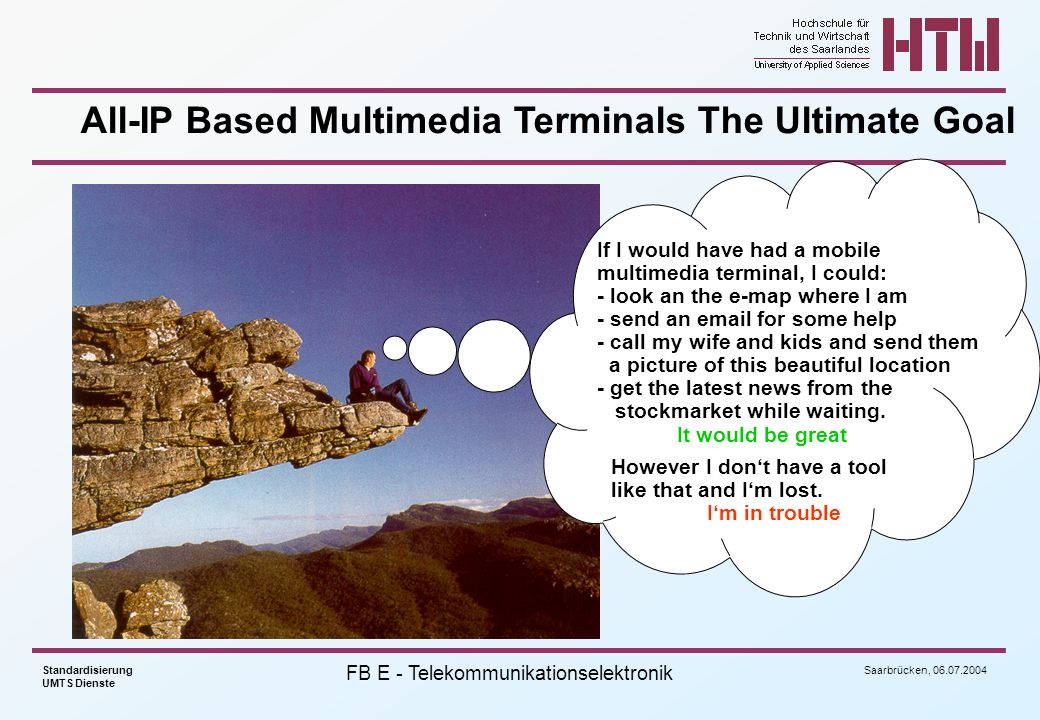 All-IP Based Multimedia Terminals The Ultimate Goal