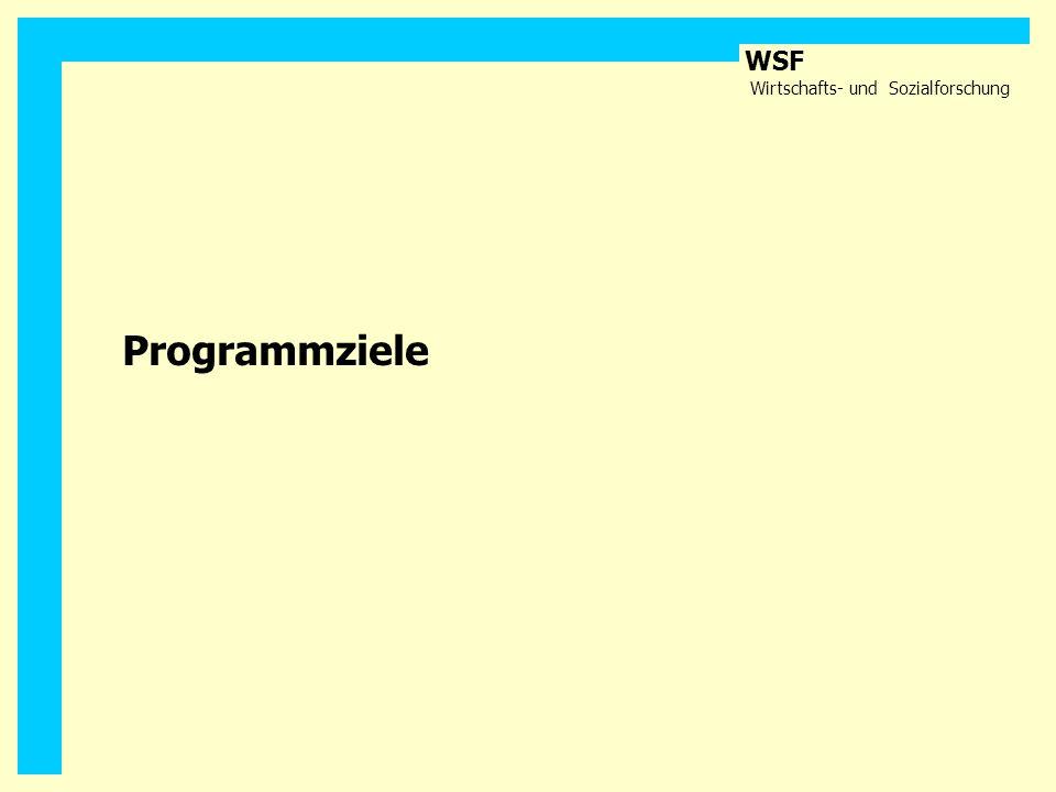 Programmziele