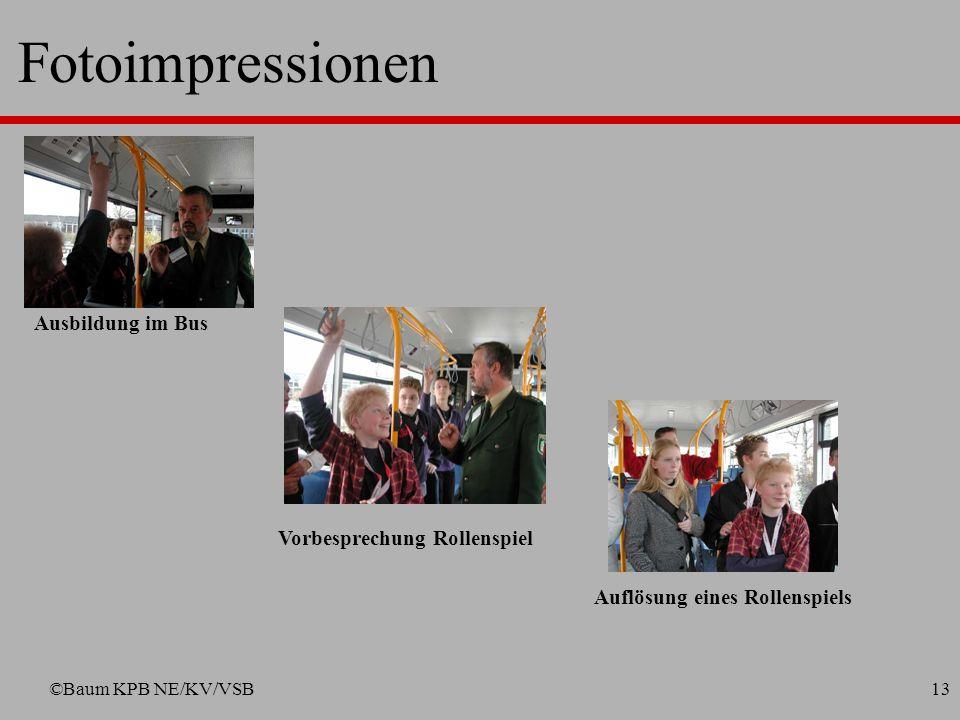 Fotoimpressionen Ausbildung im Bus Vorbesprechung Rollenspiel