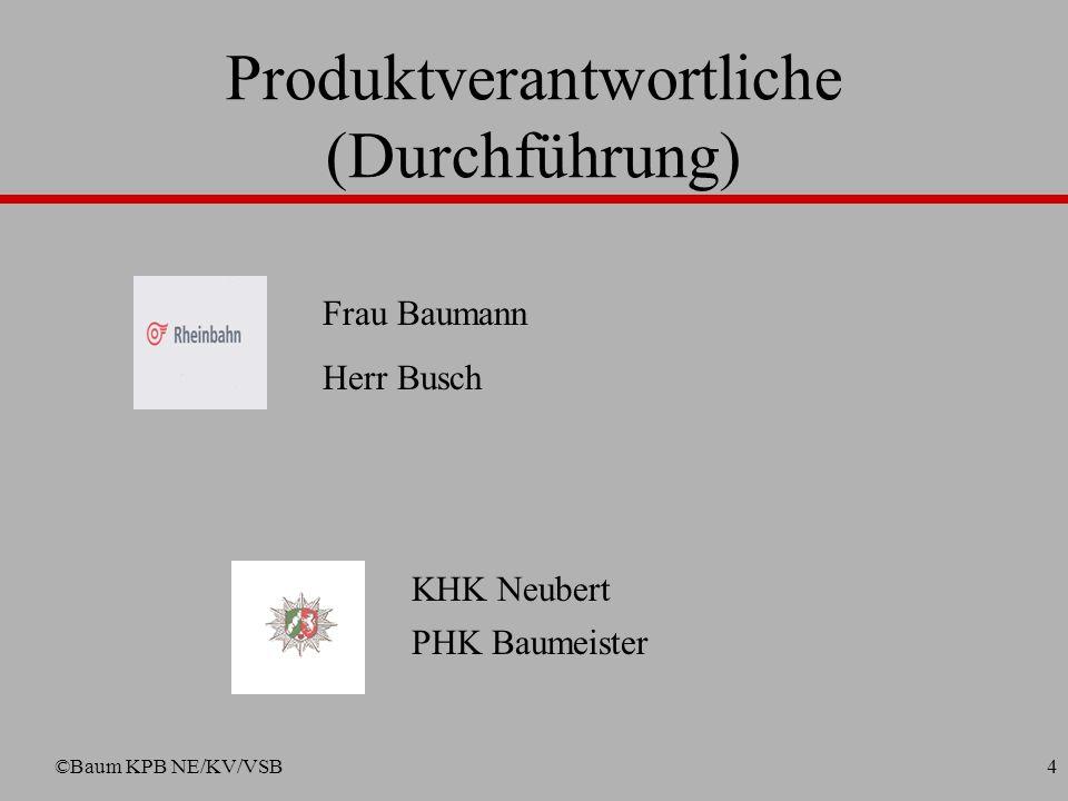 Produktverantwortliche (Durchführung)