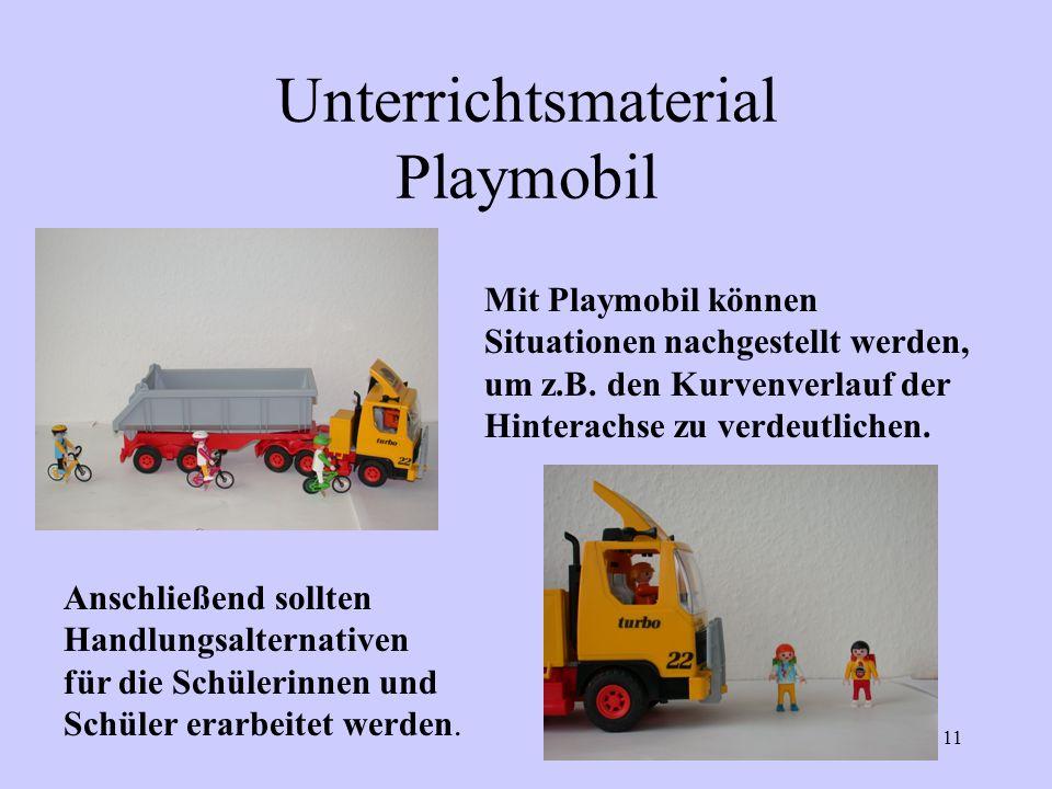 Unterrichtsmaterial Playmobil