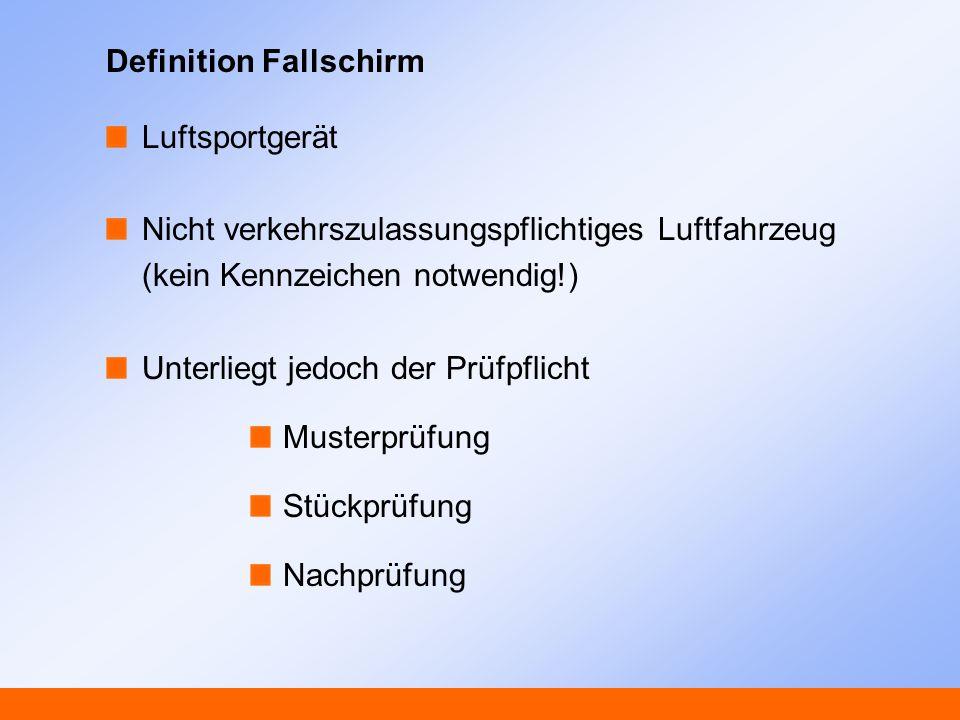Definition Fallschirm