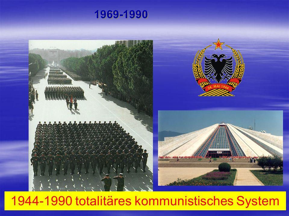 1944-1990 totalitäres kommunistisches System