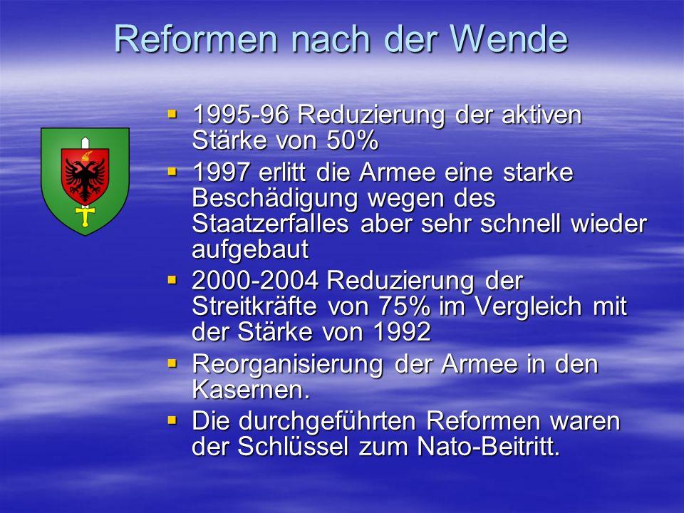 Reformen nach der Wende
