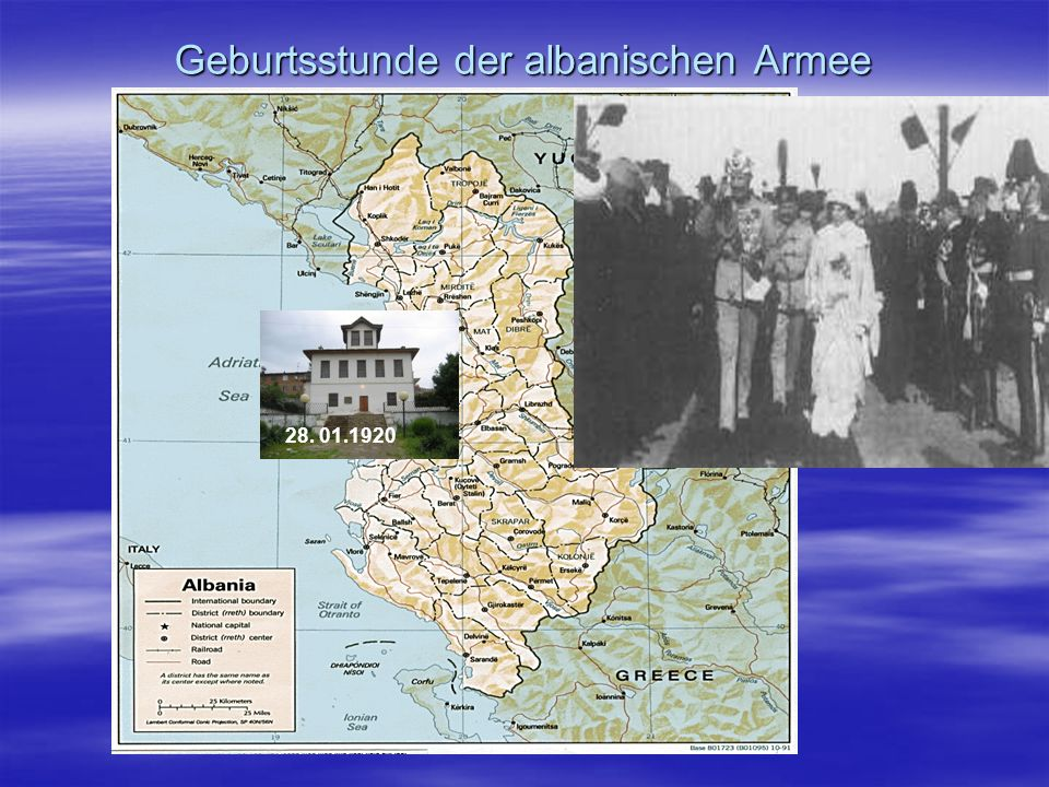 Geburtsstunde der albanischen Armee