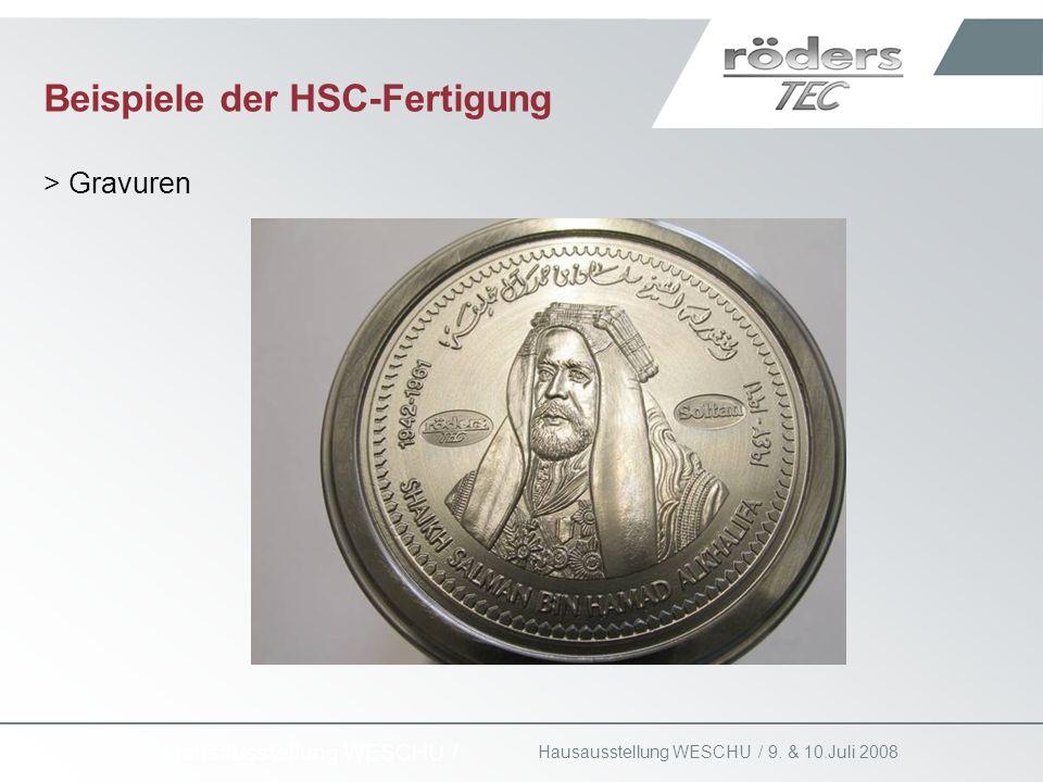 Beispiele der HSC-Fertigung