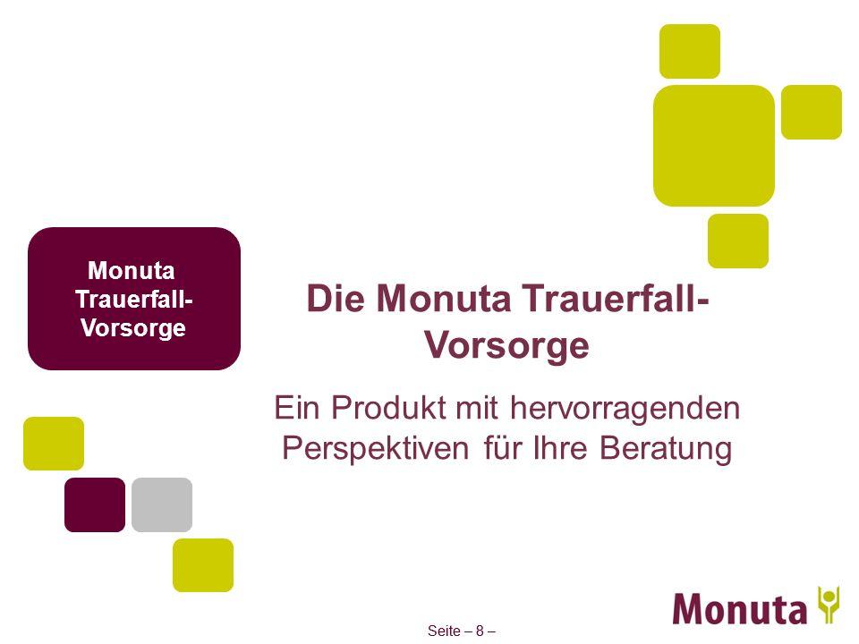 Die Monuta Trauerfall-Vorsorge