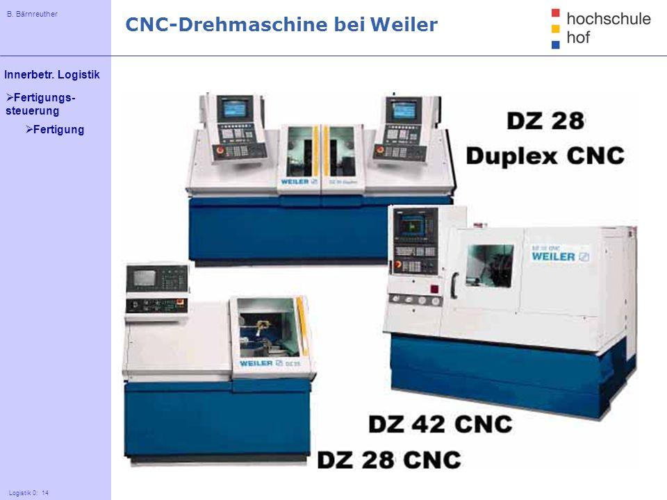 CNC-Drehmaschine bei Weiler