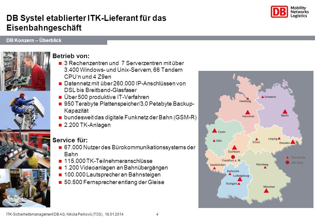 DB Systel etablierter ITK-Lieferant für das Eisenbahngeschäft
