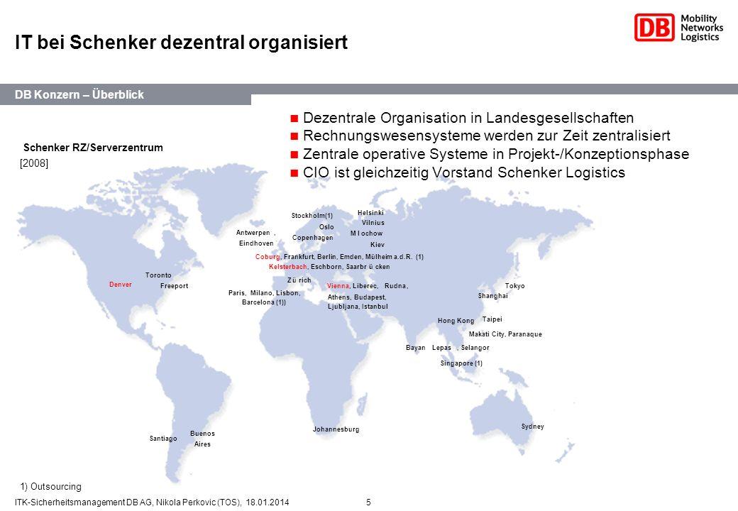IT bei Schenker dezentral organisiert