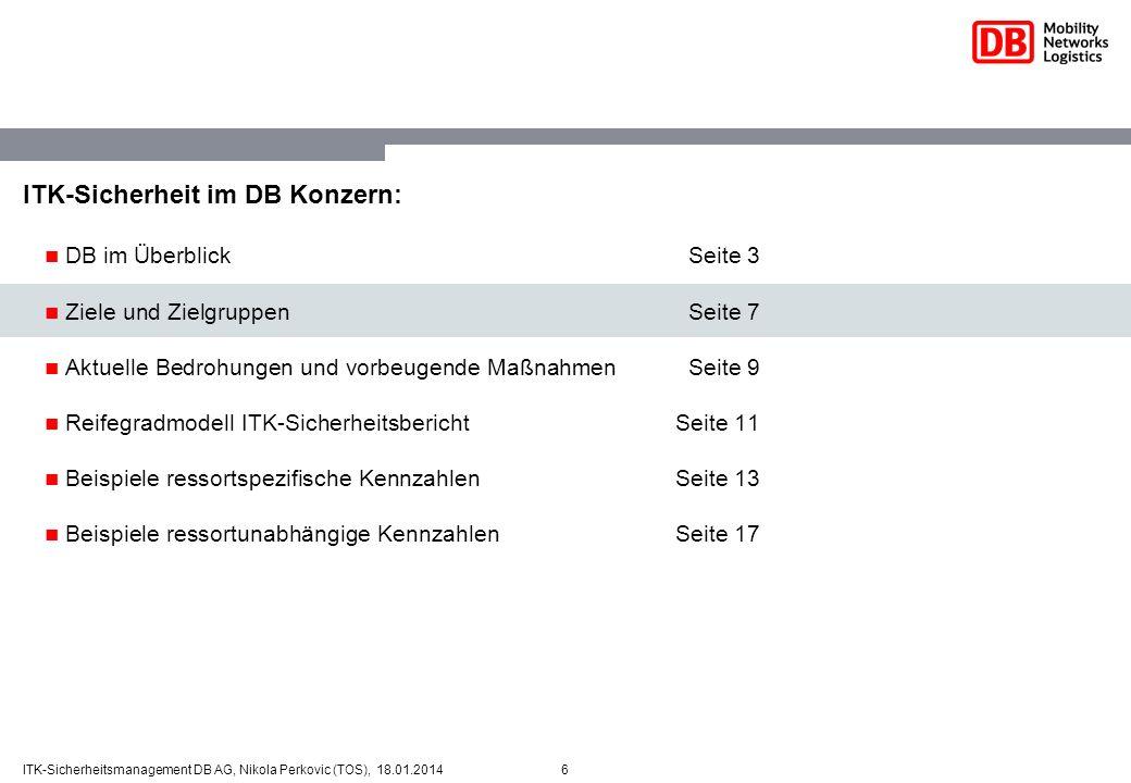 ITK-Sicherheit im DB Konzern: