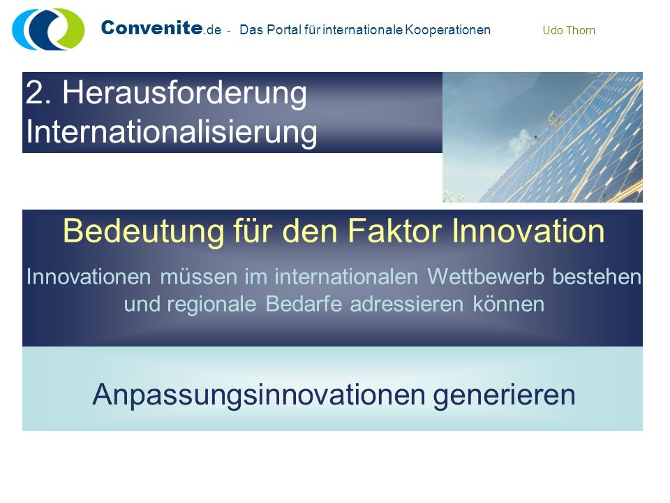 Bedeutung für den Faktor Innovation