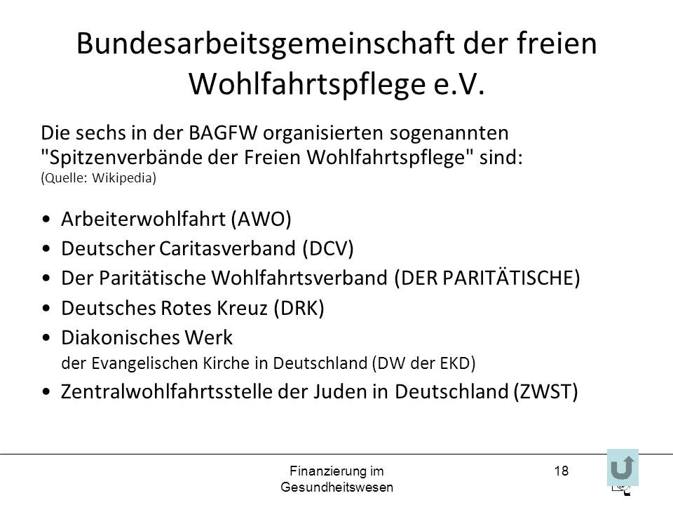 Bundesarbeitsgemeinschaft der freien Wohlfahrtspflege e.V.