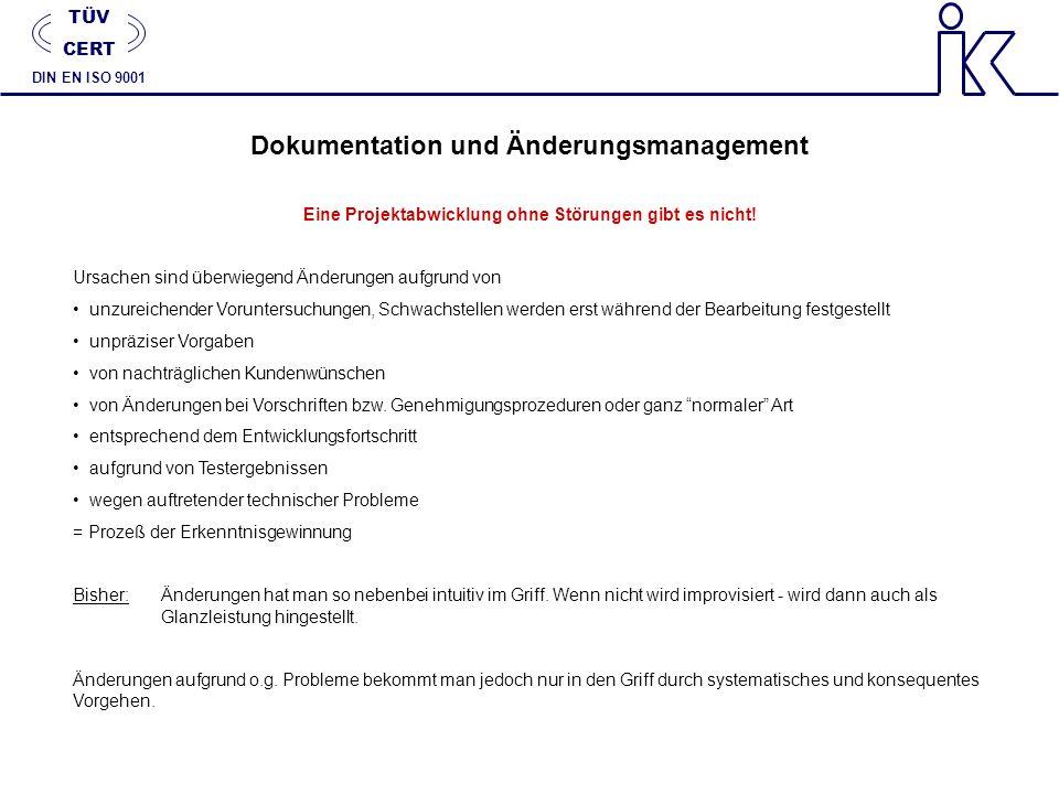 Dokumentation und Änderungsmanagement