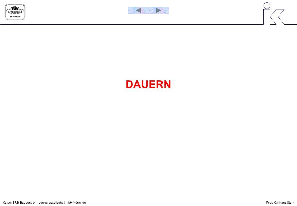 DAUERN Kaiser BRB-Baucontrol Ingenieurgesellschaft mbH München