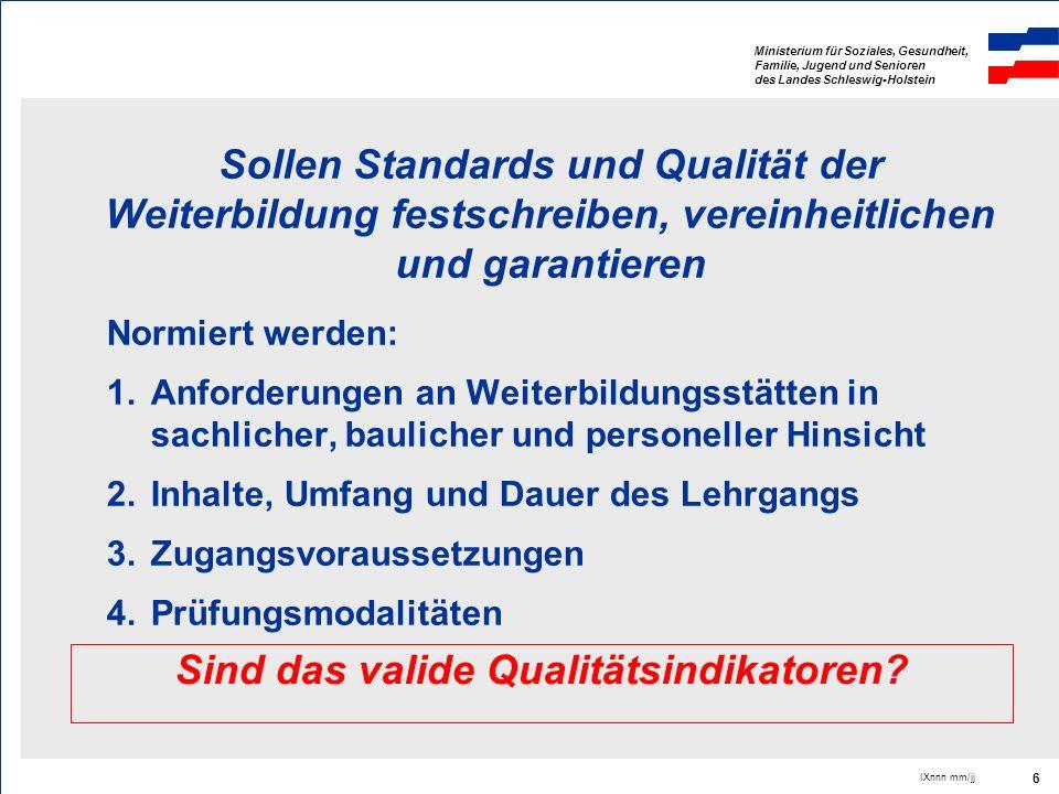 Sind das valide Qualitätsindikatoren