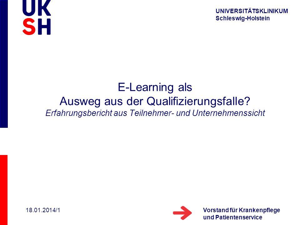 E-Learning als Ausweg aus der Qualifizierungsfalle