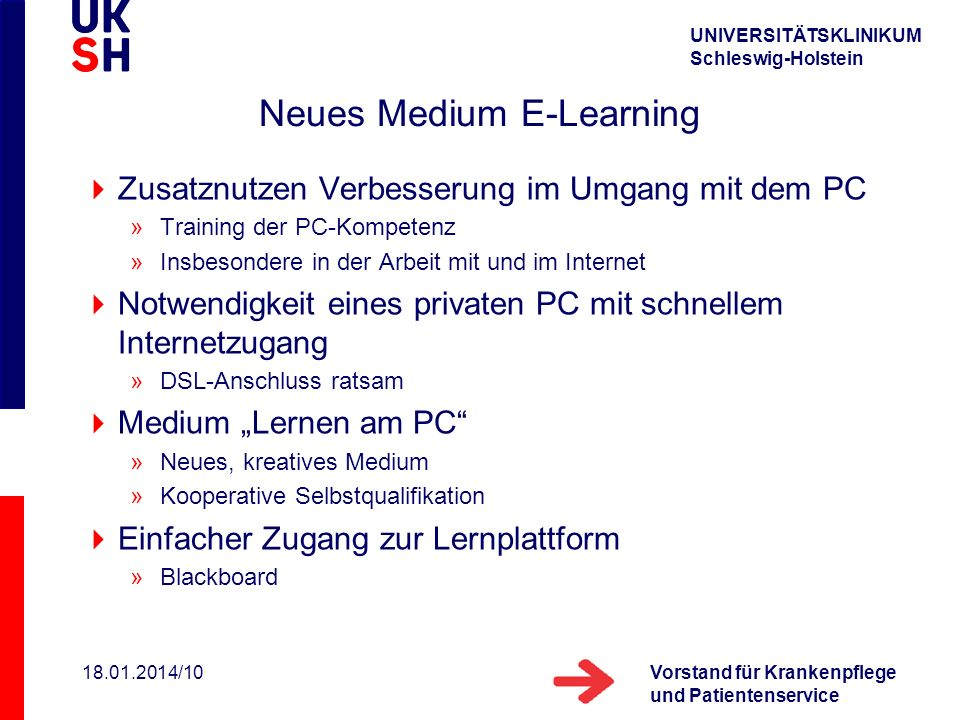 Neues Medium E-Learning